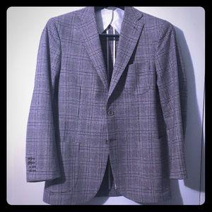 Howard Yount Italian Virgin Wool Sport Coat, EUC